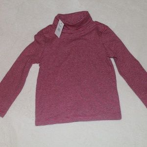 Baby Gap 2T Red Striped Top NWT
